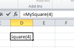 MS Excel UDF