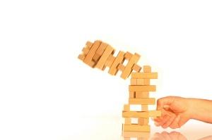 Falling Tower of Bricks