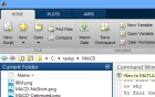 Screenshot of Matlab 8 (R2012b)